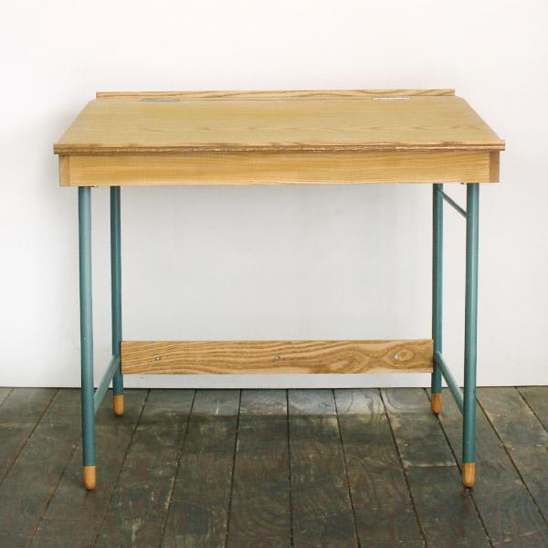 school desk [blue]