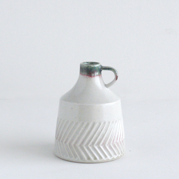 flower vase M [oribe+shino]