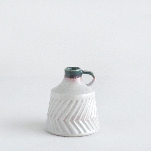 flower vase S [oribe+shino]